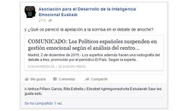 FB Asociación para el Desarrollo de la Inteligencia Emocional Euskadi 02/12/15