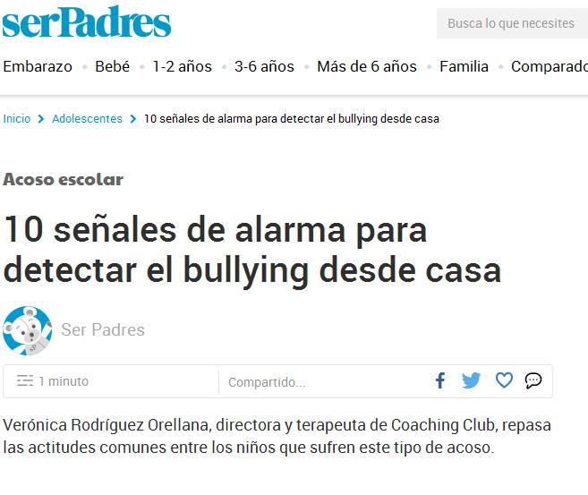 serPadres: 10 señales de alarma para detectar el bullying