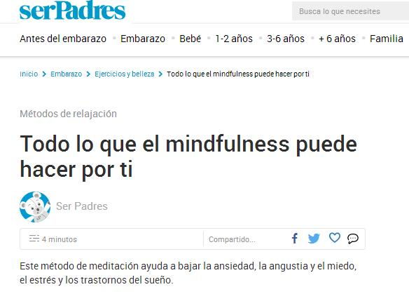 serPadres: Todo lo que el mindfulness puede hacer por ti