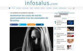 INFOSALUS: Aumentan los casos de estrés postraumático tras los atentados de Bruselas