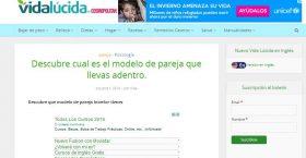 VIDA LUCIDA: DESCUBRE CUAL ES EL MODELO DE PAREJA
