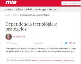 Mía: Dependencia tecnológica: protégeles