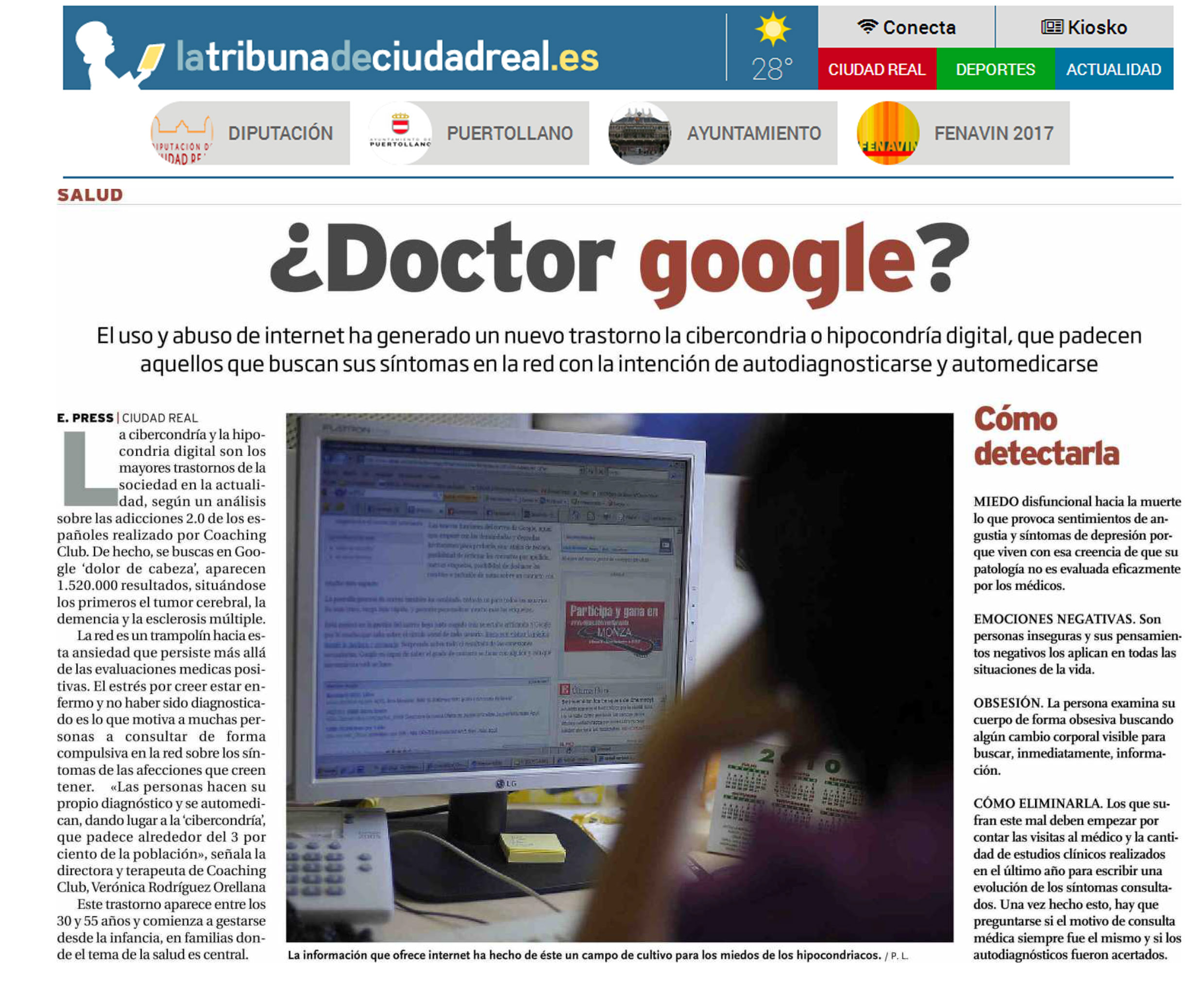 La Tribuna de Ciudad Real: ¿Doctor Google?