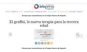 Iris Press Magazine: El graffiti, la nueva terapia para la tercera edad