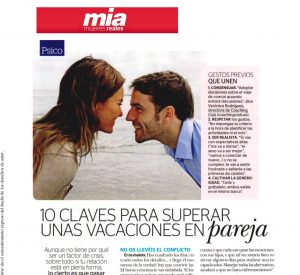 MIA: 10 claves para superar unas vacaciones en pareja