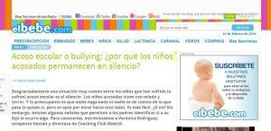 ElBebé: Acoso escolar o bullying: ¿por qué los niños acosados permanecen en silencio?