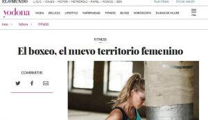 El boxeo, el nuevo territorio femenino