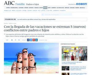 abc: Con la llegada de las vacaciones se estrenan 5 (nuevos) conflictos entre padres e hijos