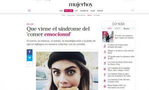 mujerhoy: Que viene el síndrome del 'comer emocional'