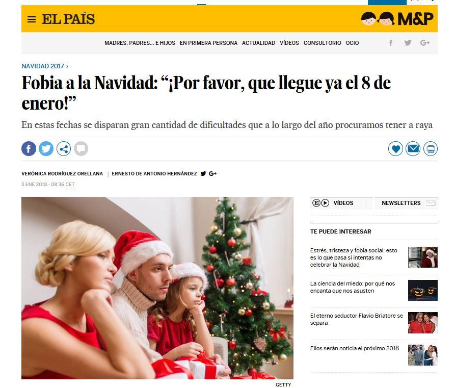 """Fobia a la Navidad: """"¡Por favor, que llegue ya el 8 de enero!"""