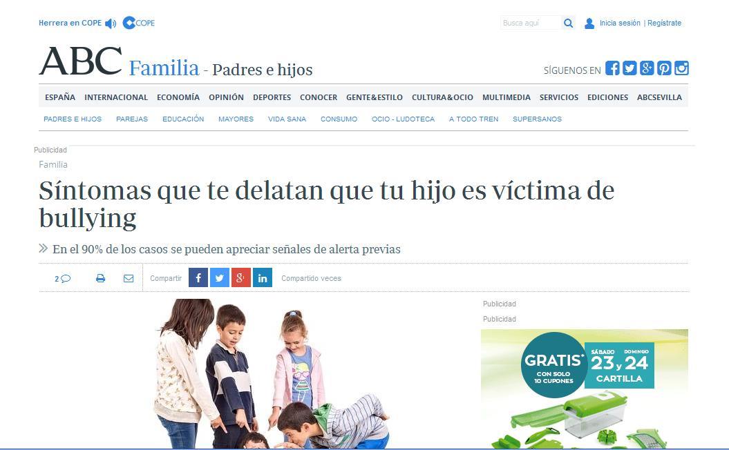 ABC: Síntomas que te delatan que tu hijo es víctima de bullying