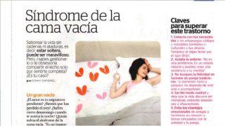 Mía: Síndrome de la cama vacía