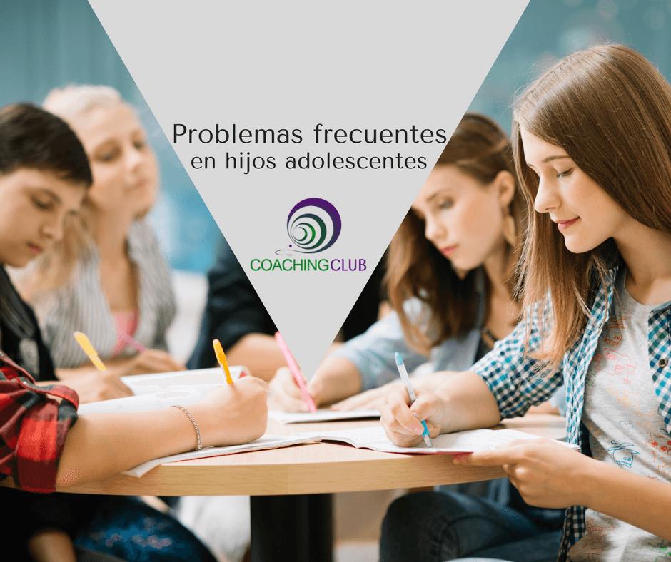 Problemas recurrentes en los hijos adolescentes