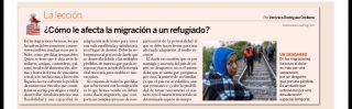 EXPANSIÓN: Cómo le afecta la inmigración al refugiado