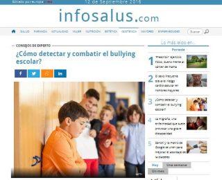 europapress: (Infosalus): ¿Cómo detectar y combatir el bullying escolar?
