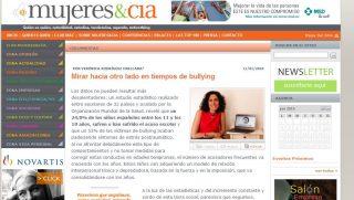 MUJERES & CIA: Mirar hacia otro lado en tiempos de bullying