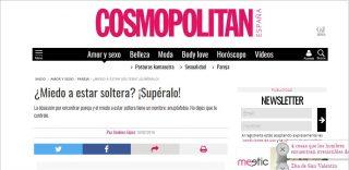COSMOPOLITAN: ¿Miedo a estar soltera? ¡Supéralo!