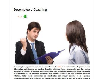Espacio Humano: Desempleo y Coaching