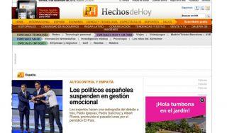 HECHOS HOY: Los políticos españoles suspenden en gestión emocional