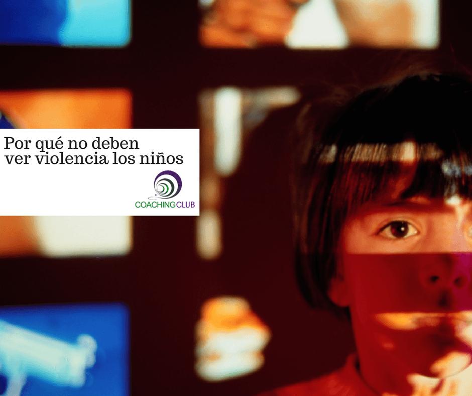 Por qué  no debe ver tanta violencia mi hijo en la televisión o videojuegos