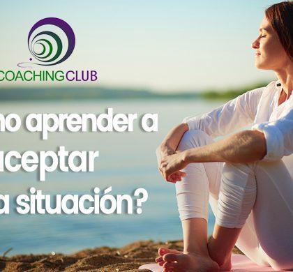 ¿Cómo aprender a aceptar una situación?