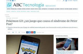 ABC: Pokémon GO: ¿un juego que causa el síndrome de Peter Pan?