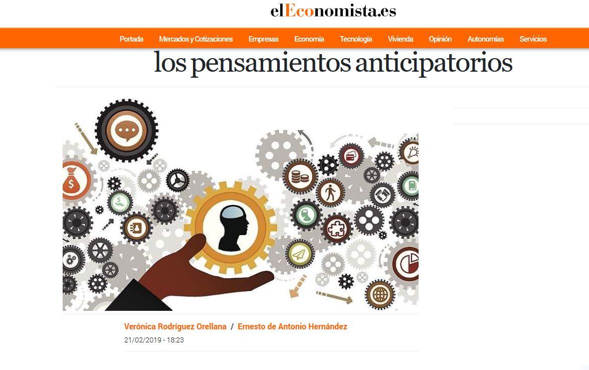 El Economista: Cuando la cabeza no para y 6 claves para detener los pensamientos anticipatorios