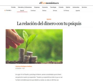 EL ECONOMISTA: La relación del dinero con tu psiquis