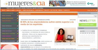 MUJER&CIA: El 90% de los emprendedores sufren estrés superior a la media de los españoles