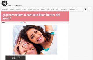 Nosotras: ¿Quieres saber si eres una head hunter del amor?