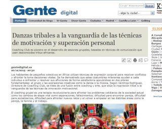 Gente Digital: Danzas tribales a la vanguardia de las técnicas de motivación y superación pe