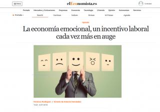 EL ECONOMISTA: La economía emocional, un incentivo laboral cada vez más en auge