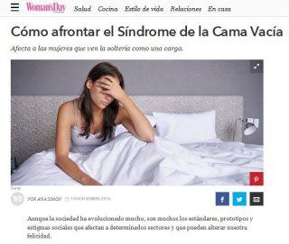 Woman'sDay: Cómo afrontar el Síndrome de la Cama Vacía