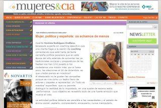 MUJERES & CIA: Mujer, política y española: os echamos de menos