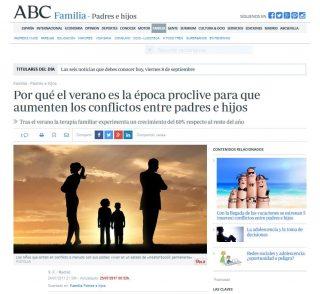ABC: Por qué el verano es la época proclive para que aumenten los conflictos entre padres e hijos