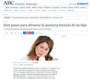 ABC: Diez pasos para afrontar la ausencia forzada de un hijo