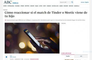 ABC: Cómo reaccionar si el match de Tinder o Meetic viene de tu hijo