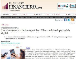 EL MUNDO FINANCIERO: Las obsesiones 2.0 de los españoles : Cibercondría o hipocondría digital