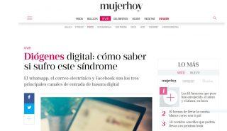 Mujer Hoy: Diógenes digital: cómo saber si sufro este síndrome