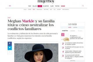 Mujer Hoy: Meghan Markle y su familia tóxica: cómo neutralizar los conflictos familiare